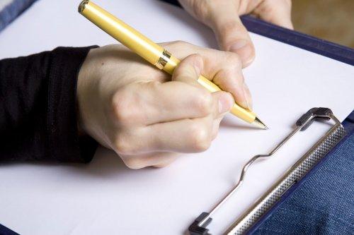 Как правильно составить расписку в получении денег